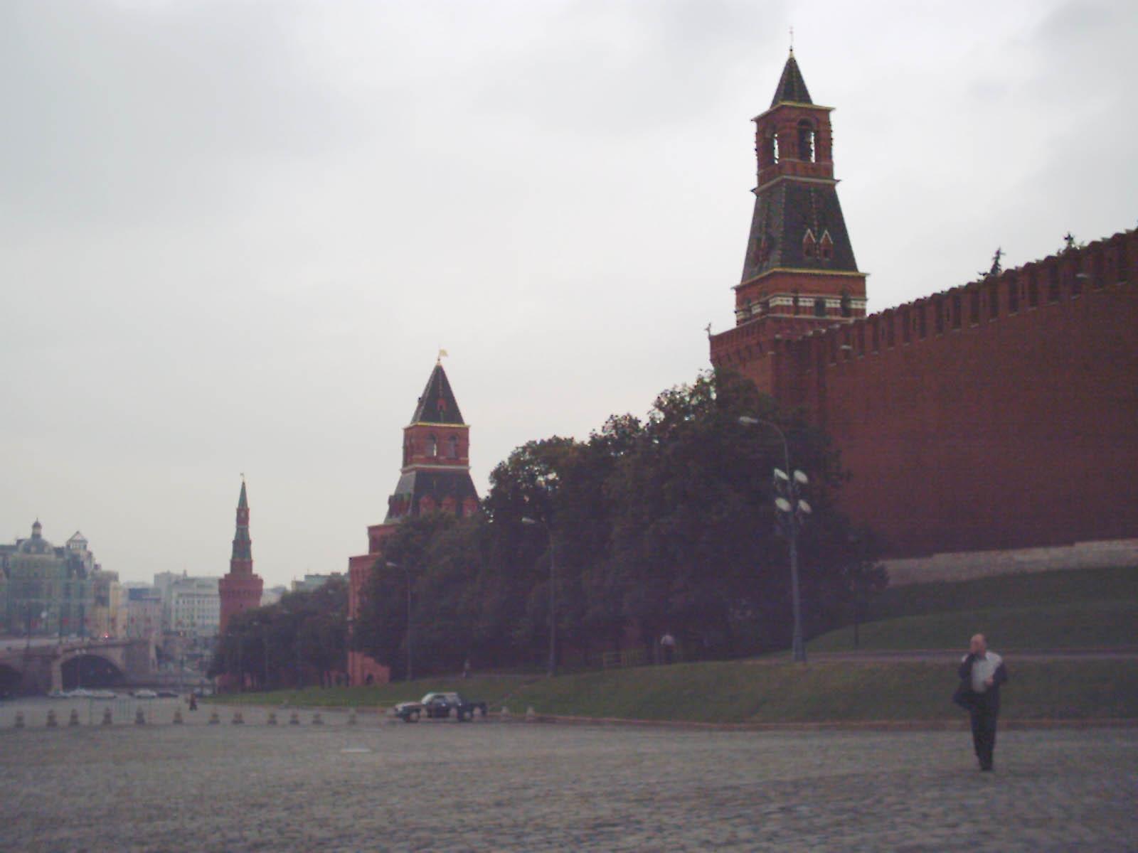 Москва спасская башня московского