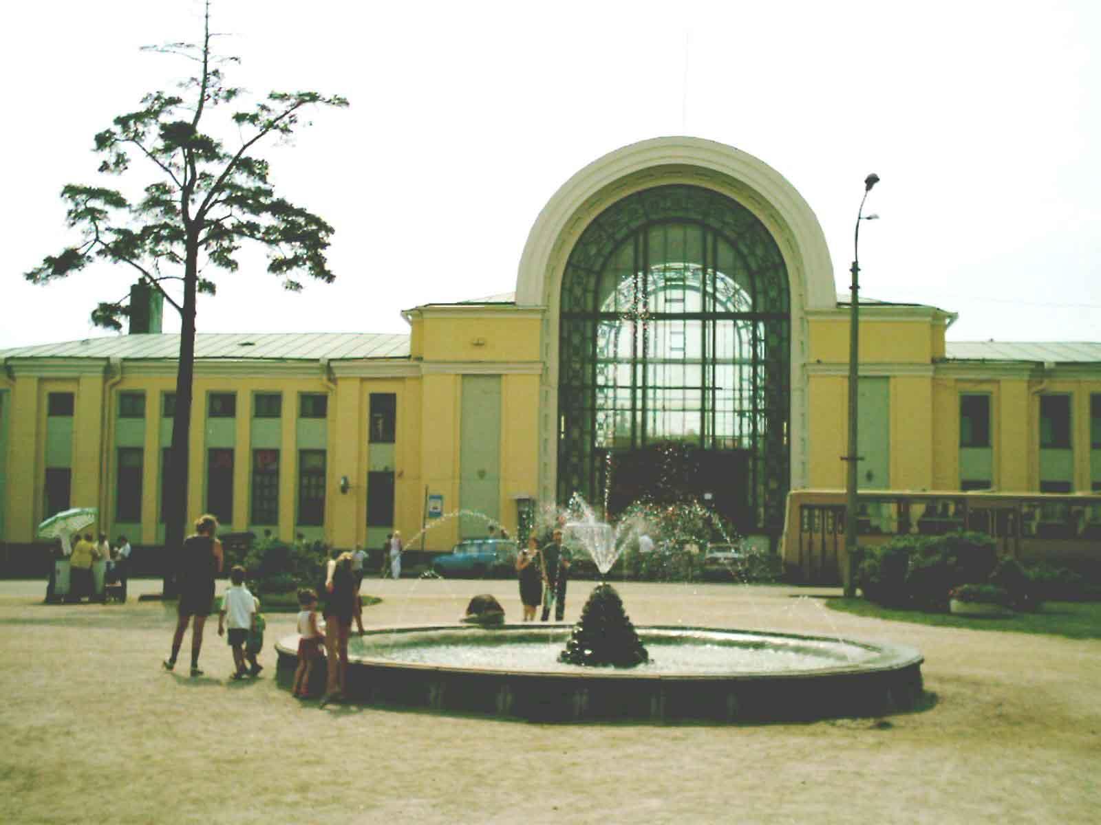 Зеленогорск станция фото